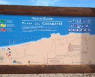 Plattegrond strand elche