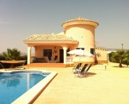 holiday rental villa in alicante busot costa blanca