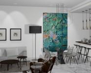 Ref 506 La Luna7 – Living room1