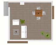 Ref 509 SaliSol Park28 – roof 2D low pixels